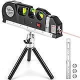 Laser Level Tool Multipurpose Laser Level Line Laser Kit With triangle bracket for Picture Hanging...
