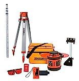 Johnson Level & Tool 99-006K Self Leveling Rotary Laser System Kit, Soft Shell Carrying Case,...