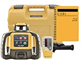 Topcon RL-H5A Self Leveling Horizontal Rotary Laser with Bonus EDEN Field Book| IP66 Rating Drop,...
