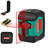 Laser Level, HYCHIKA 50 Feet Cross Line Laser with Dual Modules, Switchable Self-Leveling Vertical...