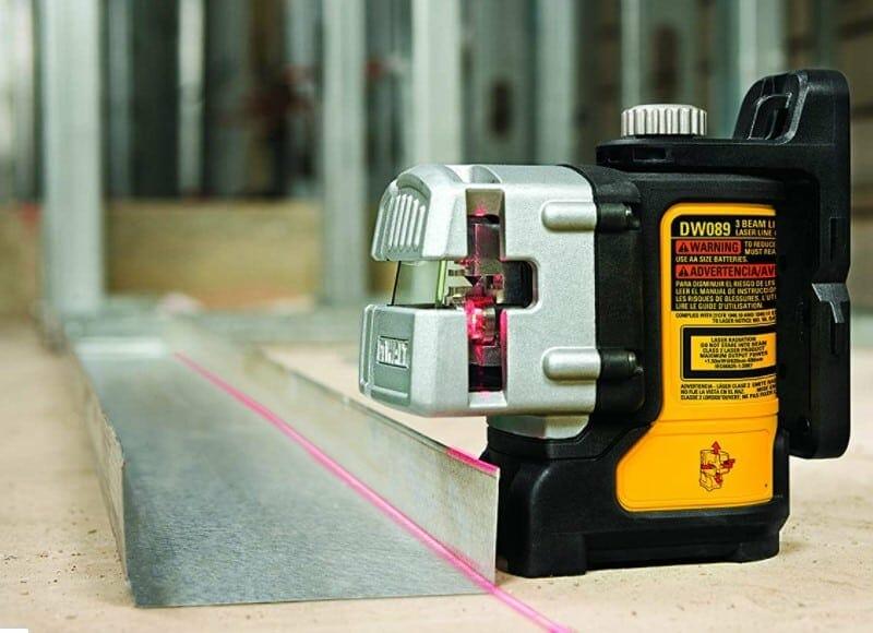 DEWALT Line Laser, Self-Leveling, 3-Beam